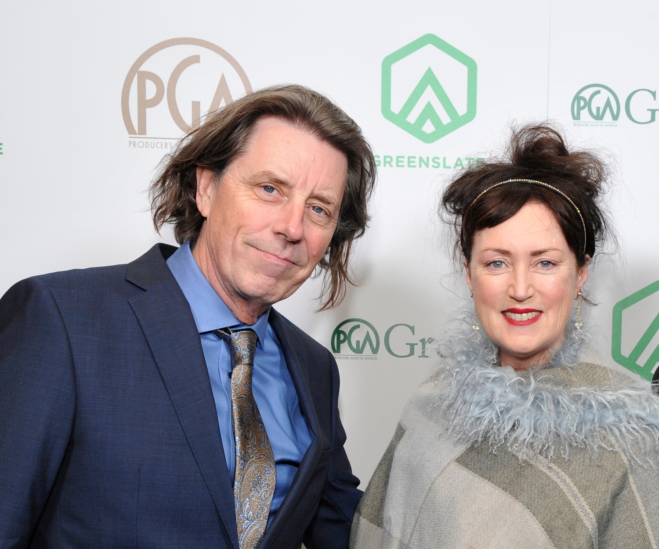 Producers Kenny Burke and Michelle Lindsay attend the 29th Annual Producers Guild Awards supported by GreenSlate at The Beverly Hilton Hotel on January 20, 2018 in Beverly Hills, California. (Photo by John Sciulli/Getty Images for GreenSlate)