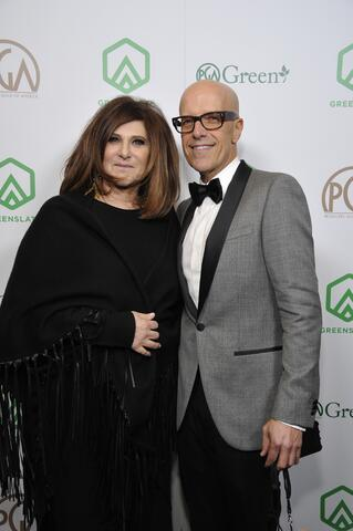 "Producers Guild Awards Co-Chair and nominee for The Darryl F. Zanuck Award for Outstanding Producer of Theatrical Motion Pictures (for both ""Molly's Game"" and ""The Post"") Producer Amy Pascal and Producers Guild Awards Co-Chair Donald De Line attend the 29th Annual Producers Guild Awards supported by GreenSlate at The Beverly Hilton Hotel on January 20, 2018 in Beverly Hills, California. (Photo by John Sciulli/Getty Images for GreenSlate)"