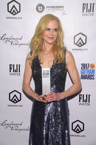 Actor Nicole Kidman in the GreenSlate Greenroom at the 2017 Gotham Awards in New York City