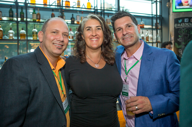 GreenSlate's Bill Baker, Claudine Marrotte, and GreenSlate's Paul Cosentino