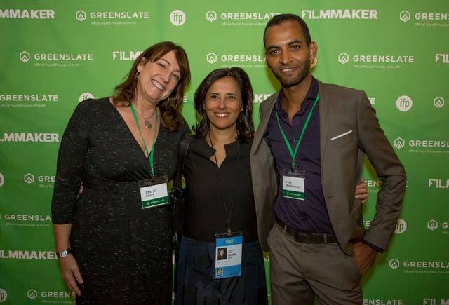 GreenSlate's Cheryl Esser, Joana Vicente, and GreenSlate's Yara Maalainine