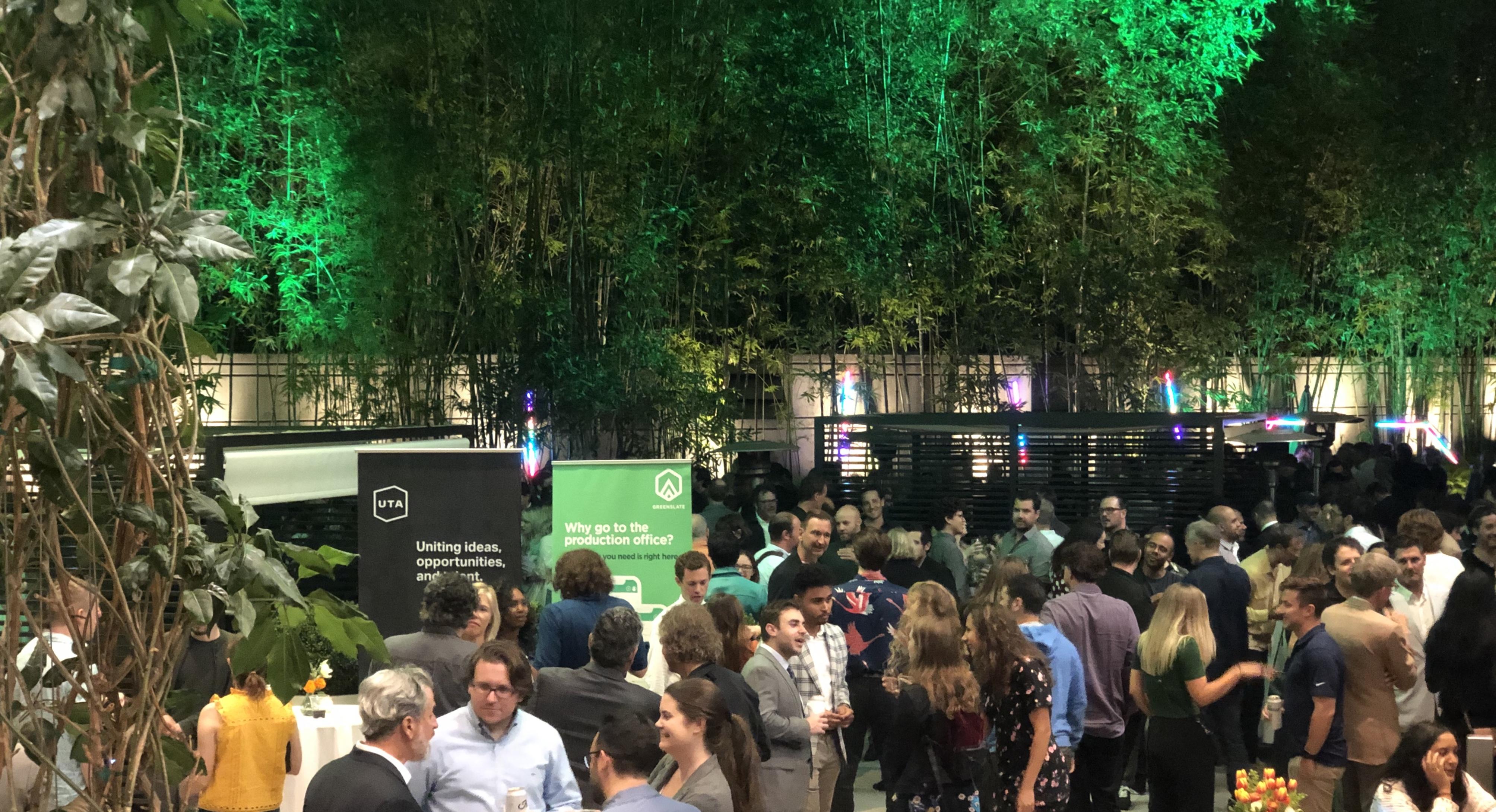 UTA and GreenSlate 2019 Soirée