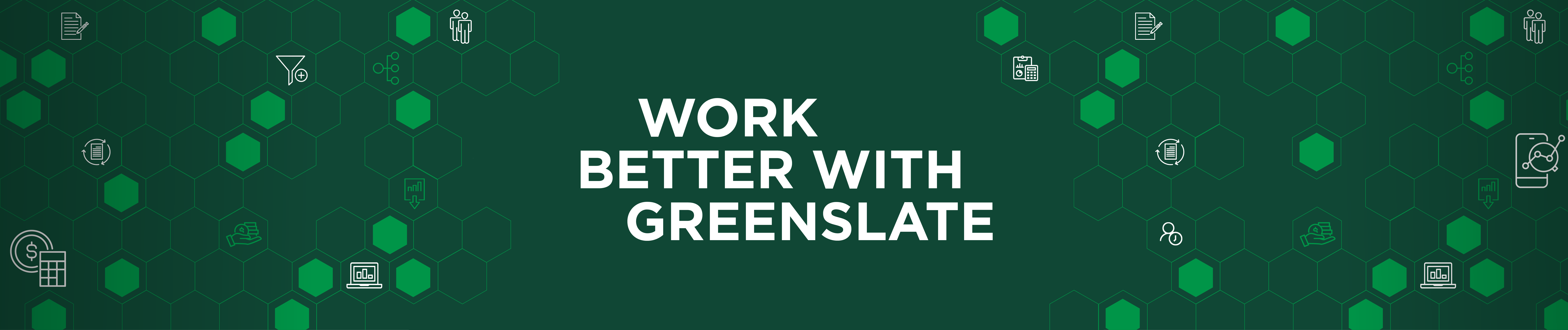 Work Better With GreenSlate Banner